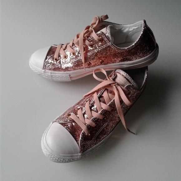 Converse rose gold glitter 5 fits women 7 Journeys